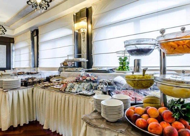 buffet home counter restaurant yacht brunch fresh