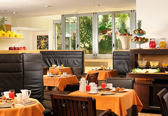 restaurant home living room orange brunch function hall buffet
