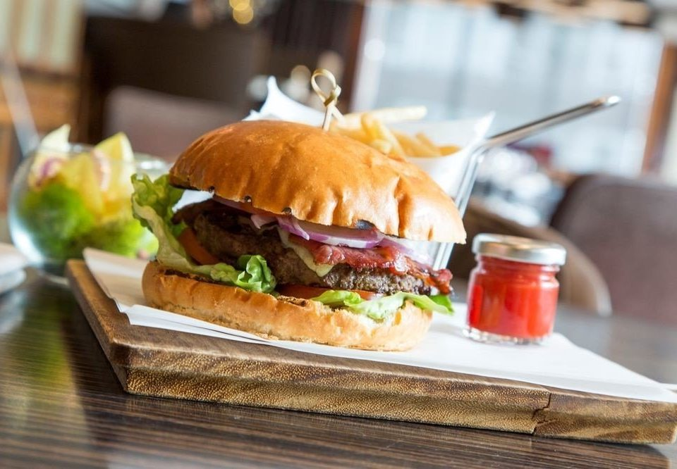 food sandwich snack food restaurant lunch hamburger brunch meat cuisine slider