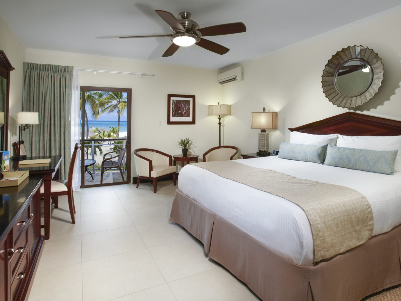 Aruba caribbean Hotels indoor floor wall bed room property Bedroom ceiling hotel estate cottage home real estate Suite interior design Villa living room condominium apartment furniture