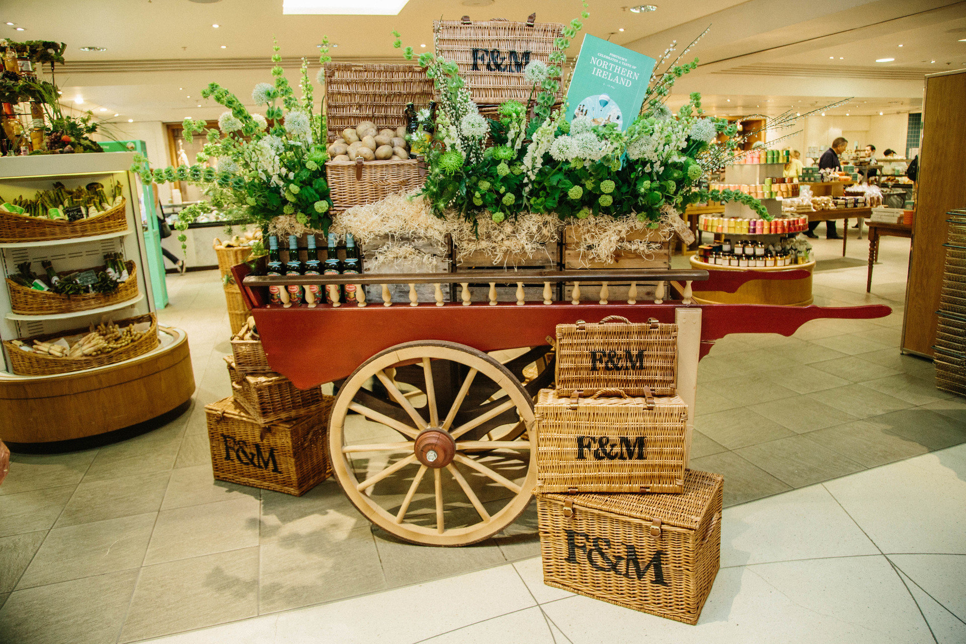 basket food Food + Drink gourmet grocery interior Shop shopping store floor indoor tourist attraction