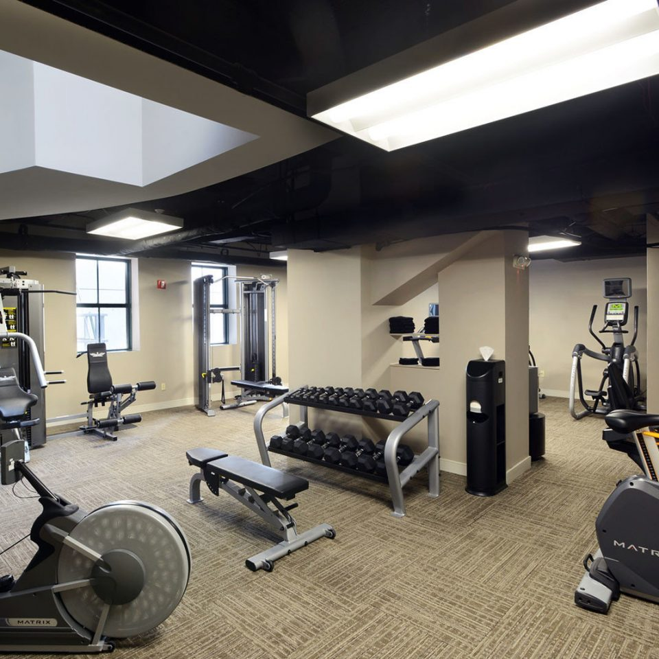 Budget City Classic Elegant Fitness structure gym sport venue condominium exercise device