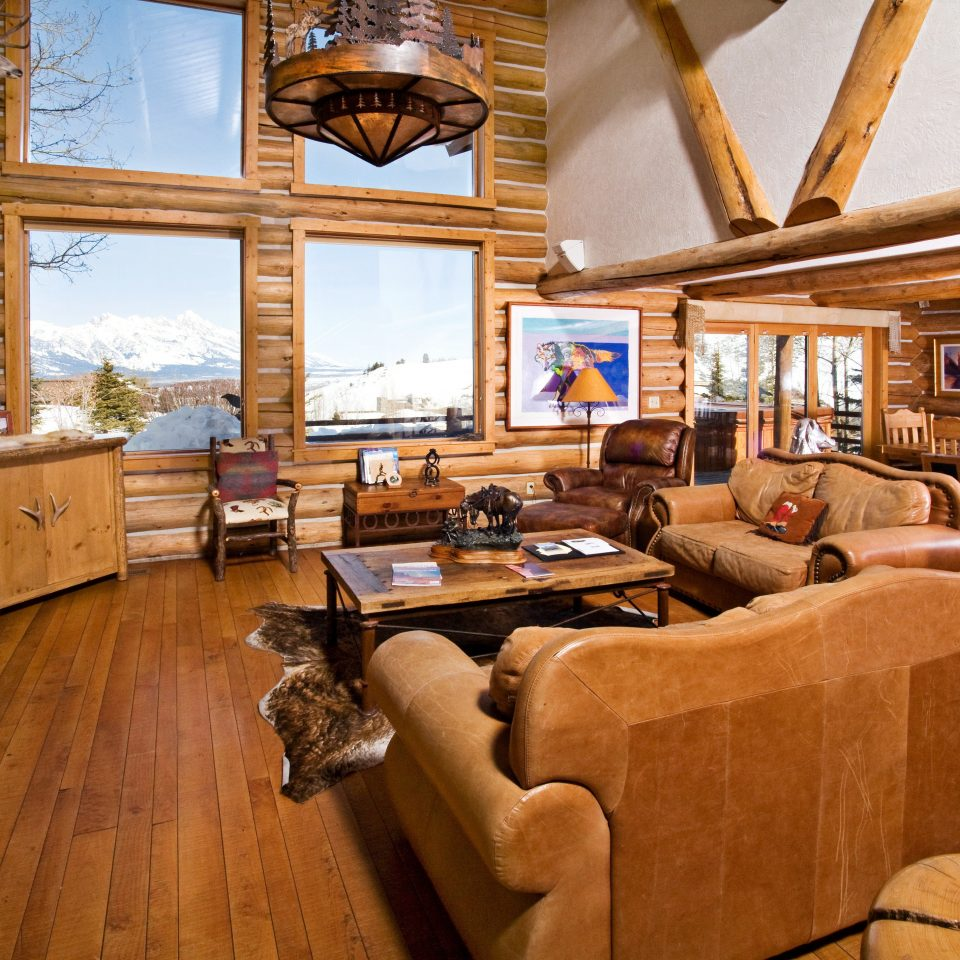 Budget Country Family Lodge Suite Villa building property log cabin living room home house hardwood cottage farmhouse