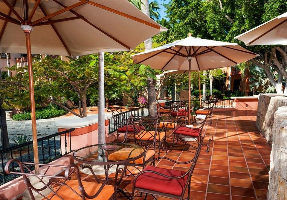 Budget Drink Eat Resort Tropical Waterfront tree chair umbrella building Dining restaurant porch lawn set outdoor structure backyard Deck shade