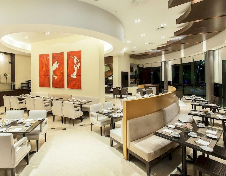 Budget Dining Drink Eat Modern scene restaurant cafeteria function hall conference hall Lobby