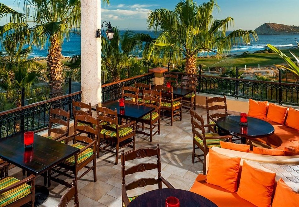 Budget Dining Drink Eat Resort Tropical Waterfront tree leisure chair restaurant Villa eco hotel colorful set