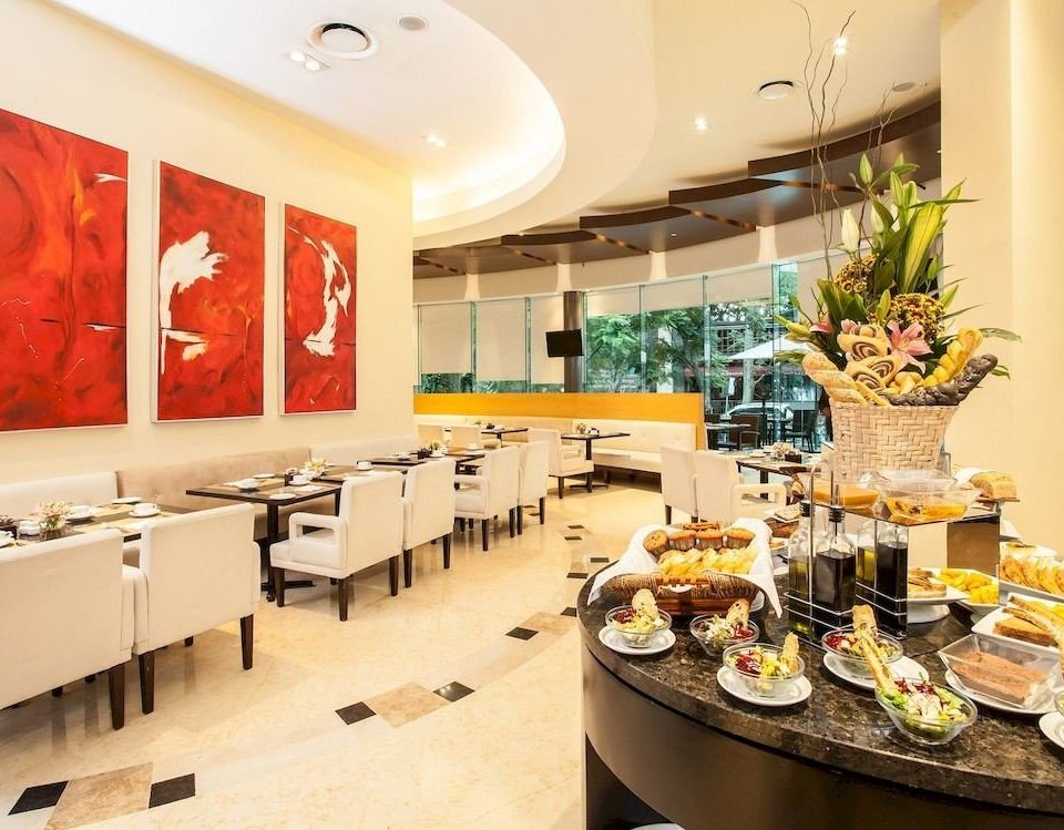 Budget Dining Drink Modern Lobby restaurant buffet counter function hall cafeteria