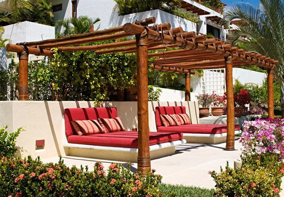 Budget Family Lounge Pool Tropical tree gazebo pergola outdoor structure plant backyard Garden