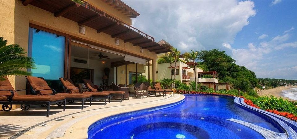 Budget Family Pool Tropical Villa sky building swimming pool property Resort leisure condominium resort town mansion hacienda blue