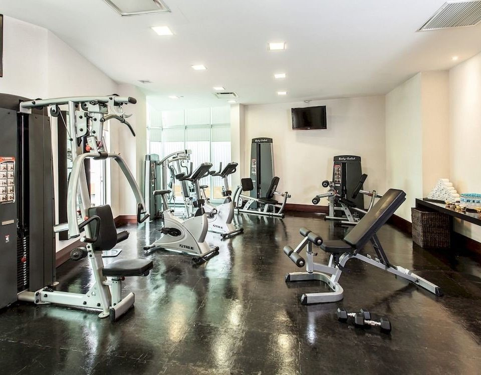 Budget Fitness Modern structure gym sport venue
