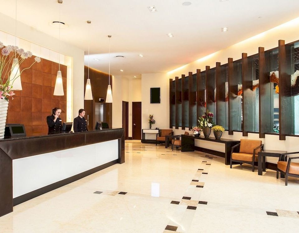 Budget Lobby Modern property function hall living room conference hall convention center receptionist auditorium
