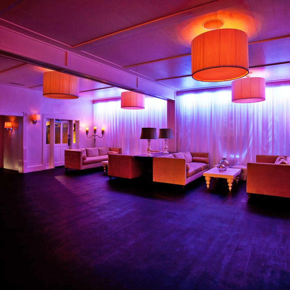 Budget Lounge Modern color auditorium function hall stage lighting theatre ballroom nightclub