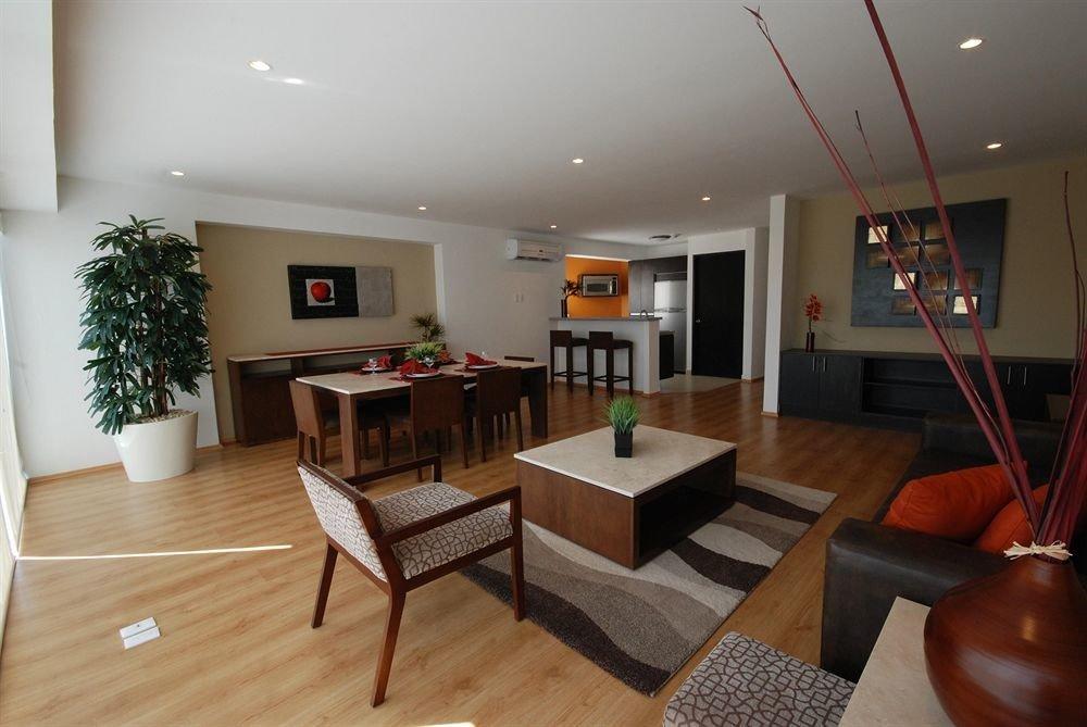 Budget Modern property living room condominium house home hardwood Villa Suite cottage
