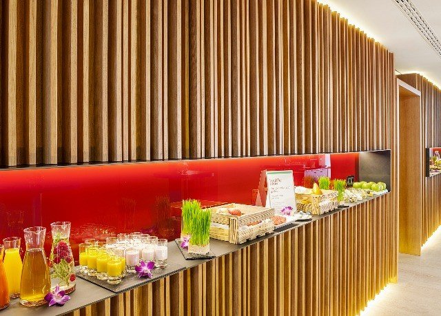 buffet restaurant food function hall colored