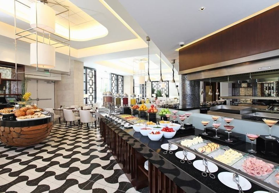 property restaurant counter buffet condominium cuisine