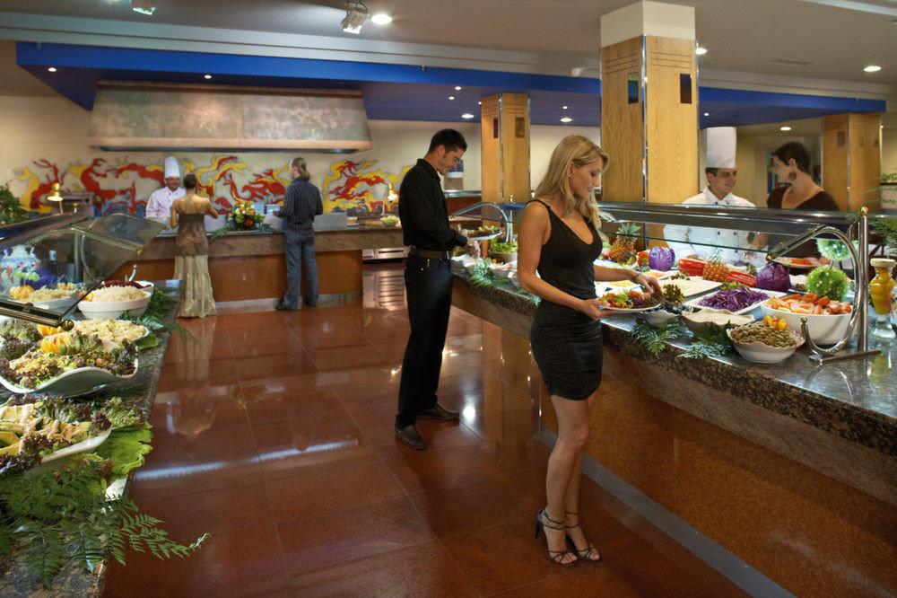 food restaurant floristry preparing lunch counter buffet food court retail