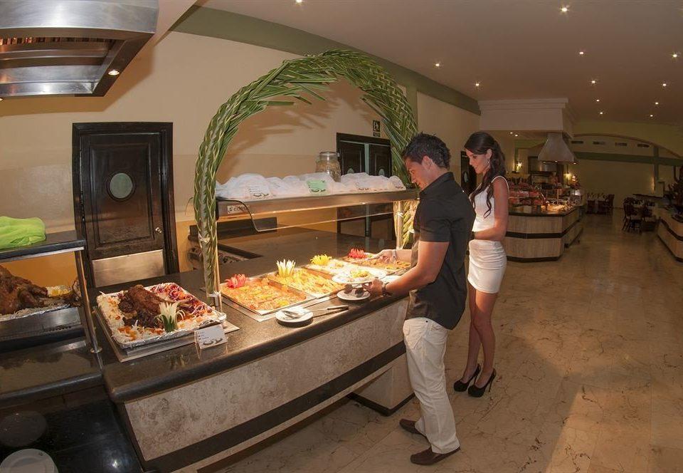 restaurant buffet cuisine food