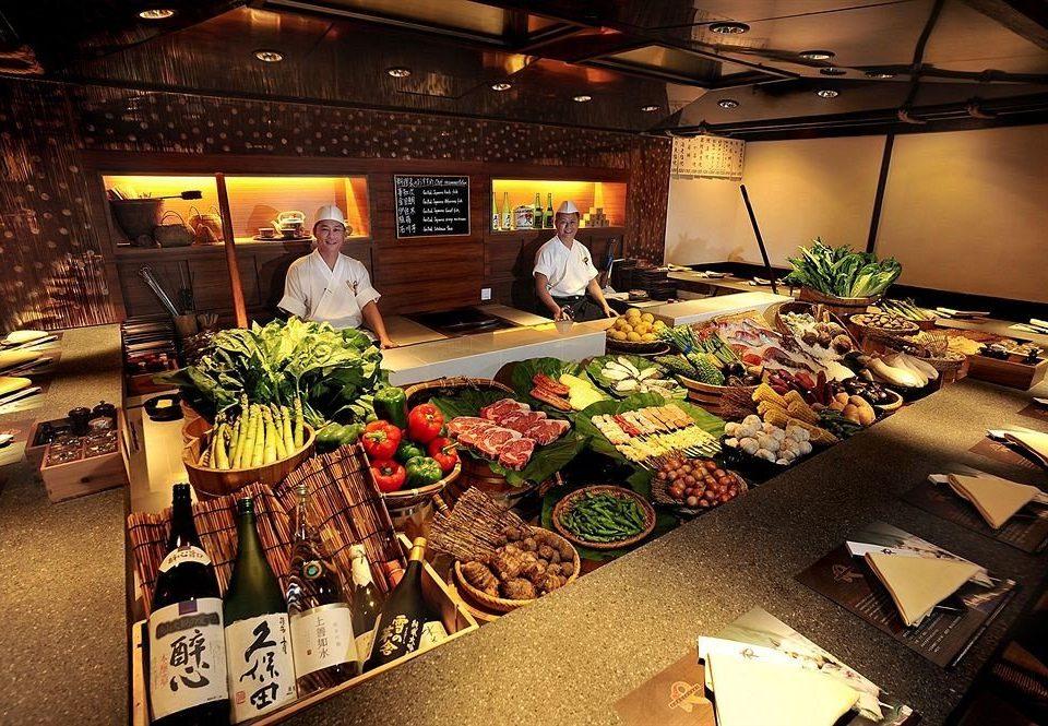 buffet food sense
