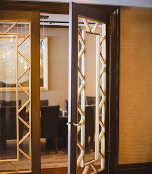 building door cabinetry lighting glass