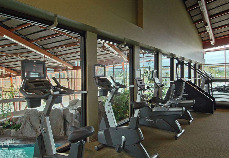 structure chair property building sport venue condominium gym