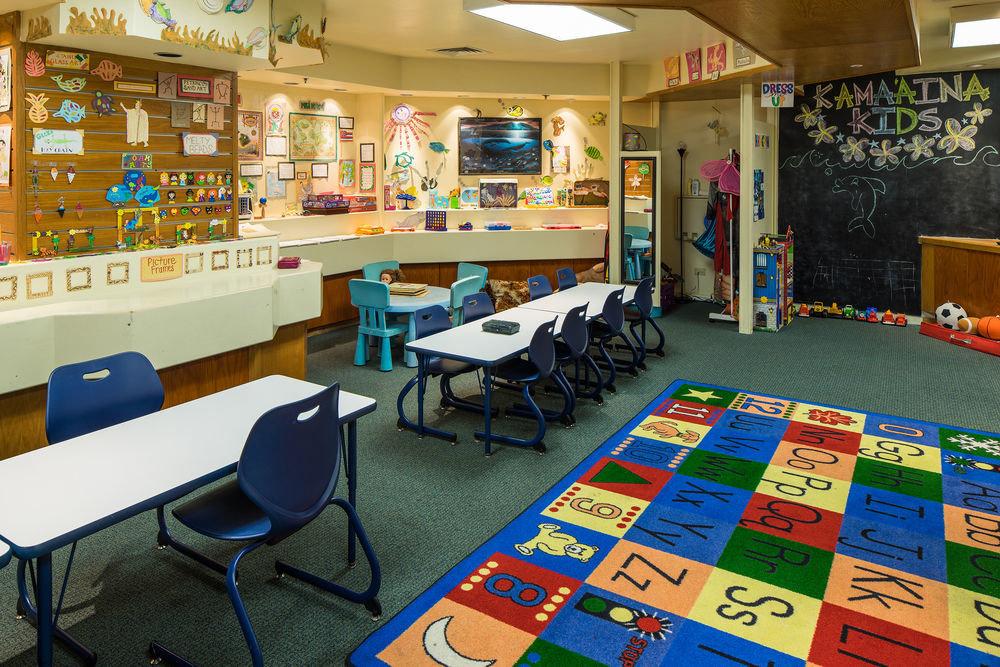 building classroom office