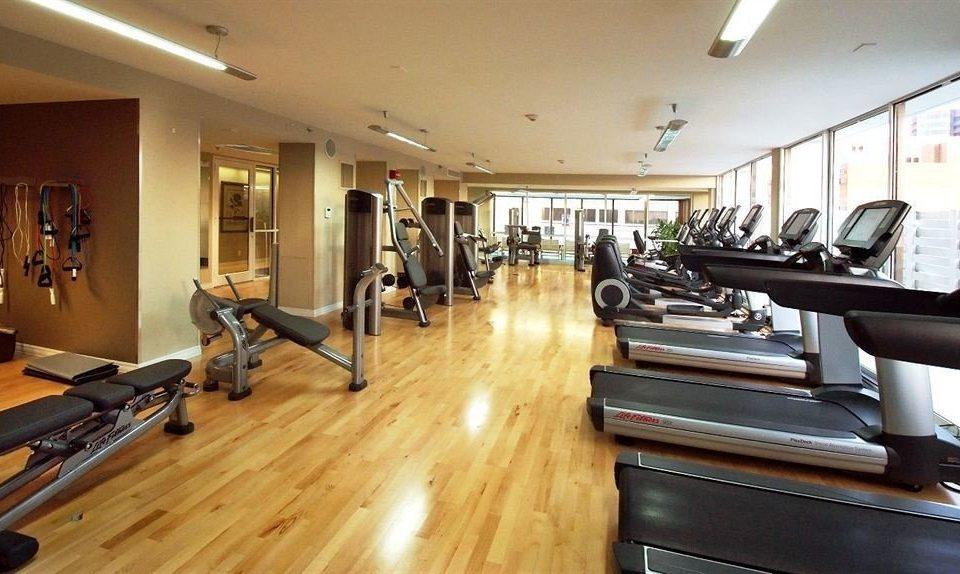 structure property building sport venue hard recreation room wooden condominium gym living room