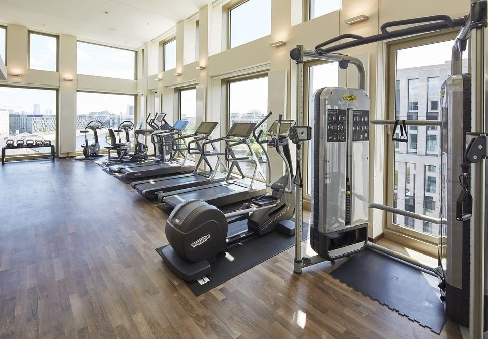 building structure gym property sport venue condominium