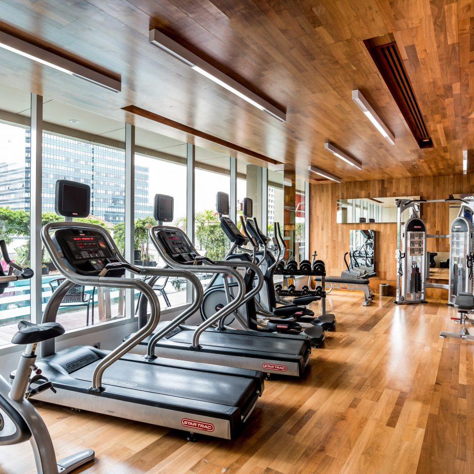 structure gym building property sport venue wooden condominium