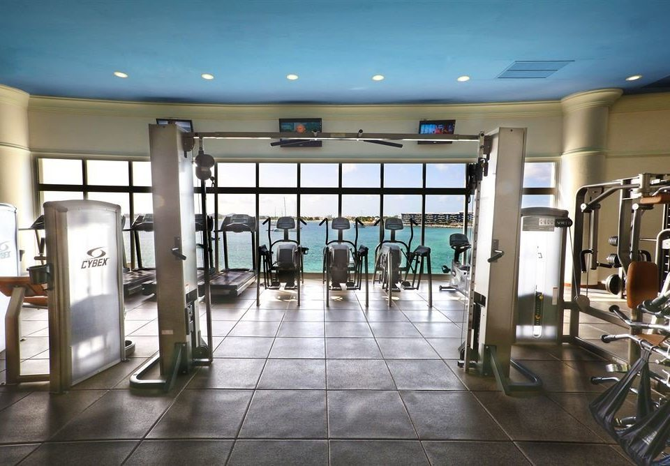 structure gym building sport venue condominium tile tiled