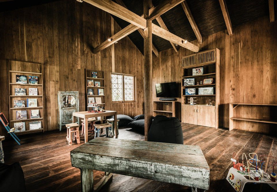wooden building living room home farmhouse cottage loft