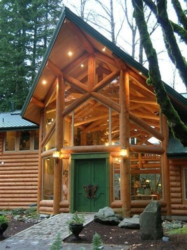 tree building log cabin property outdoor structure home gazebo cottage shrine porch hut house shinto shrine temple shed stone