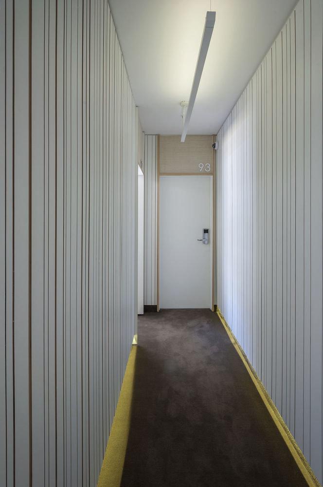 curtain building hall
