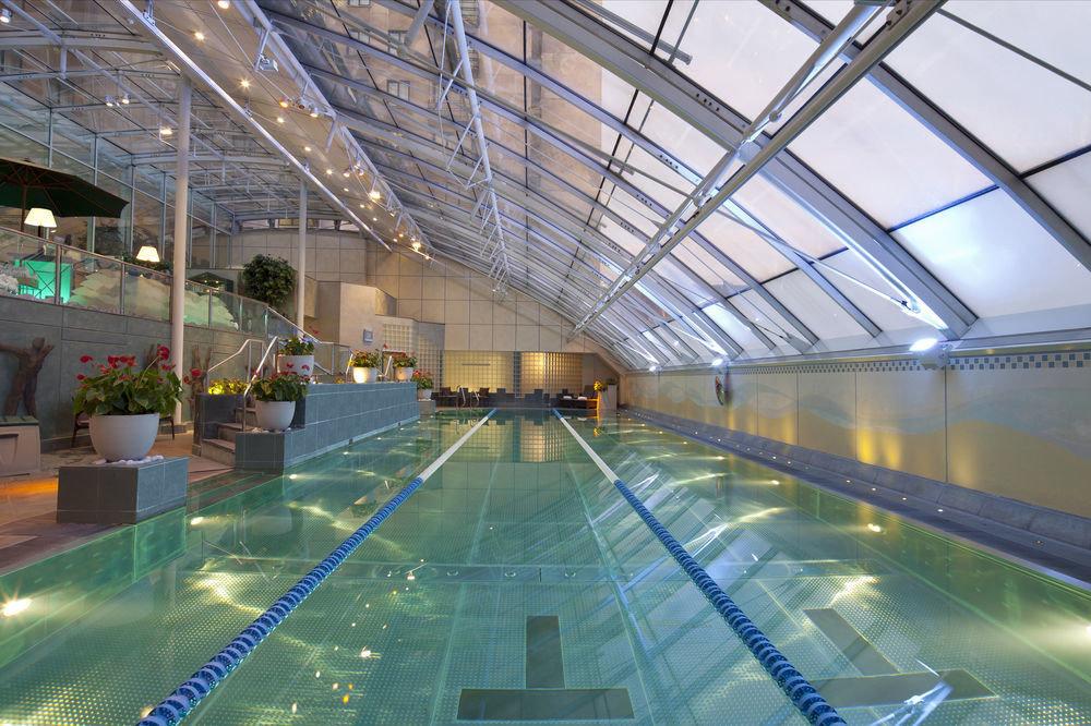 swimming pool leisure building leisure centre daylighting