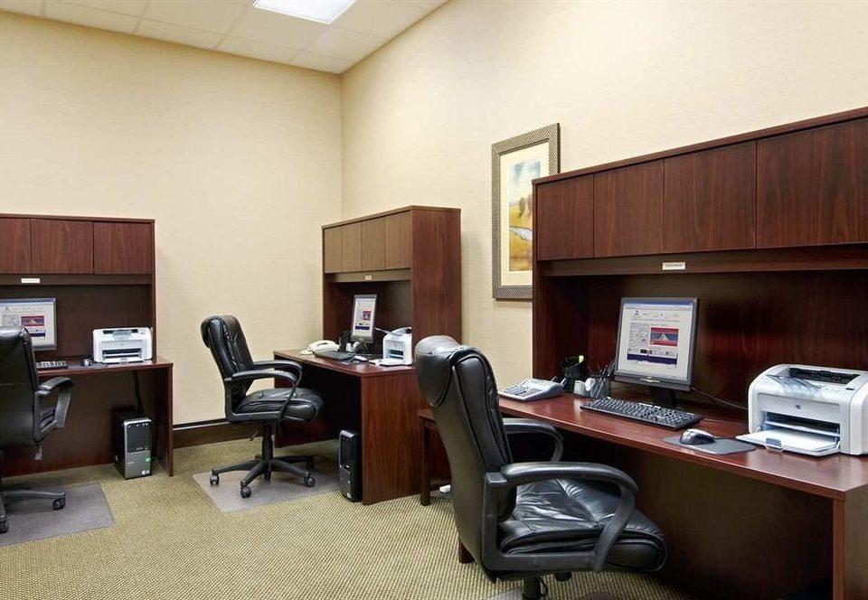 desk property office building home living room
