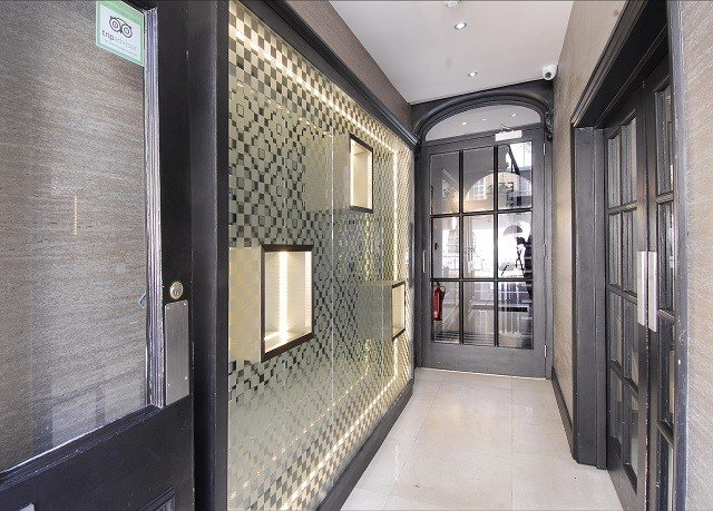 building property transport house home public transport door hall tiled tile