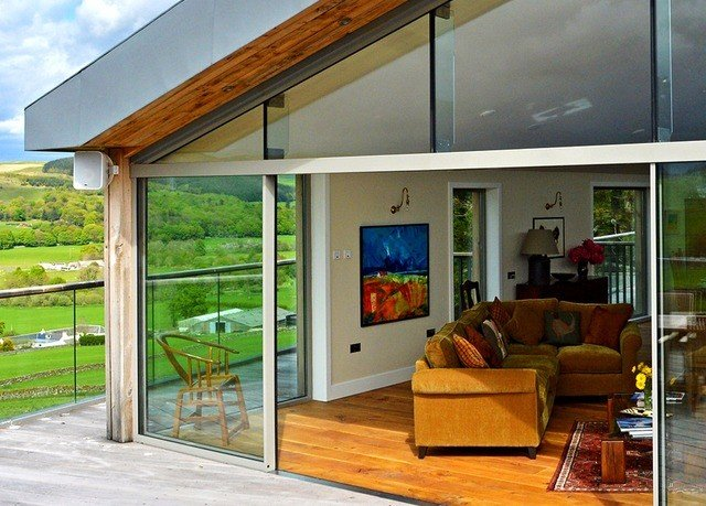 property building home outdoor structure porch door