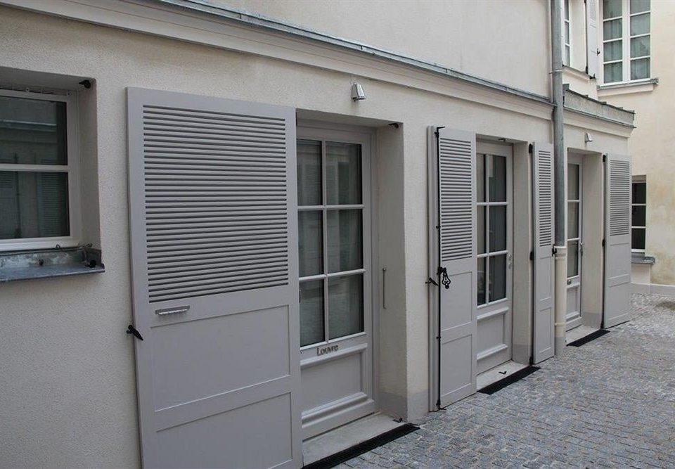 building property door siding home