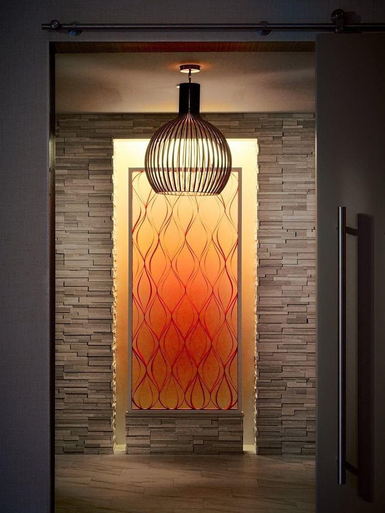 building light lighting door light fixture orange