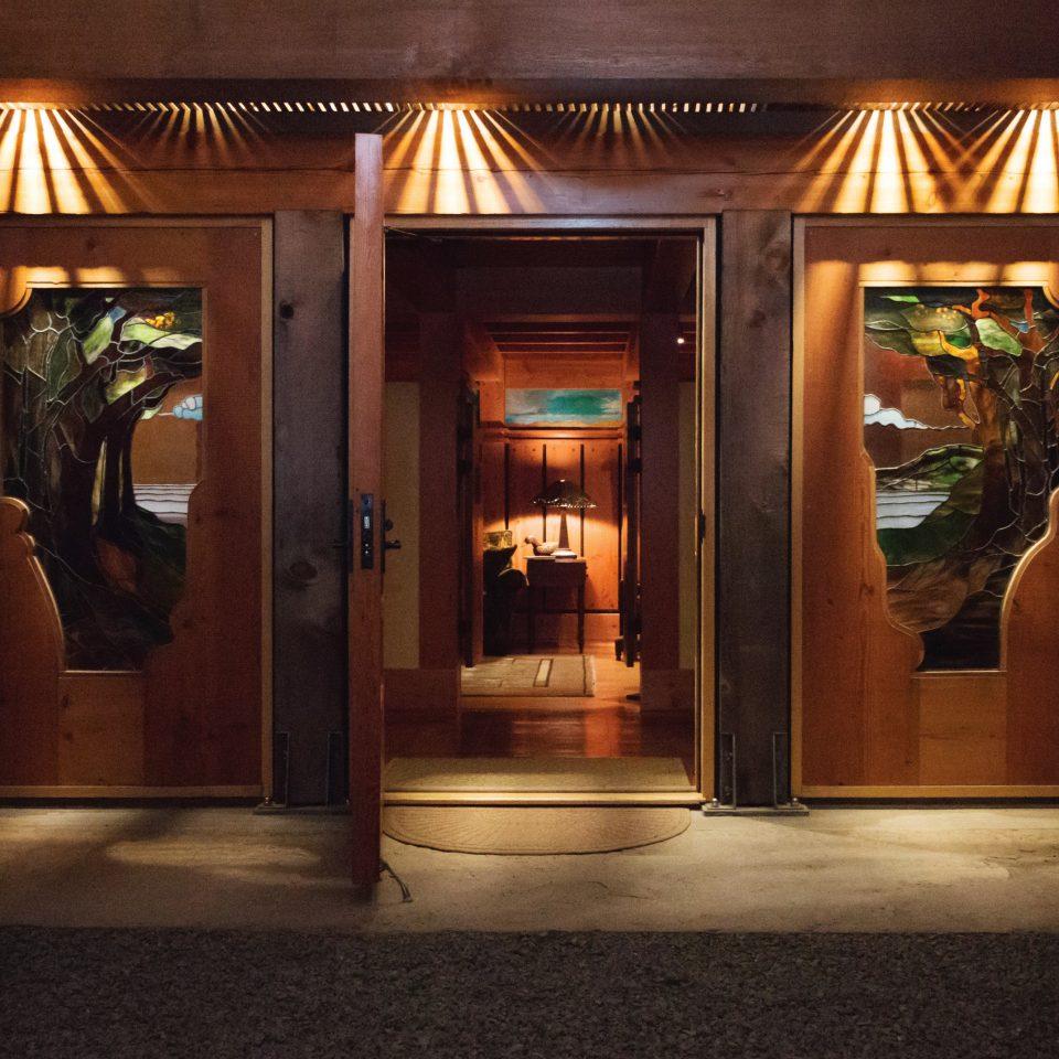 building lighting door store tourist attraction open night