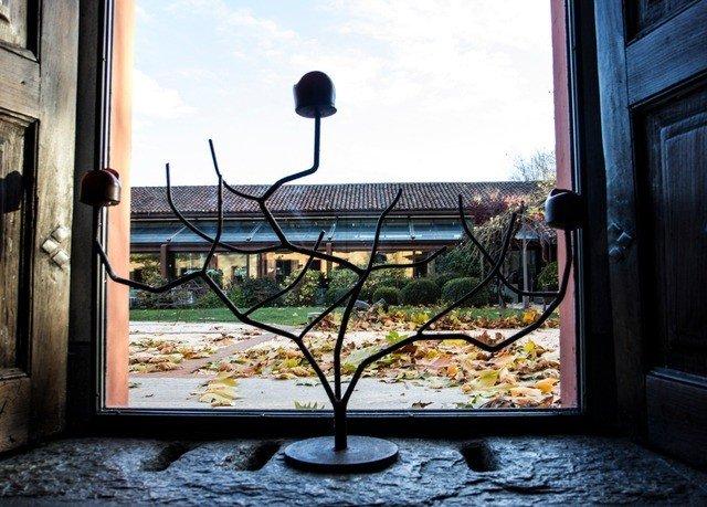 building home glass modern art
