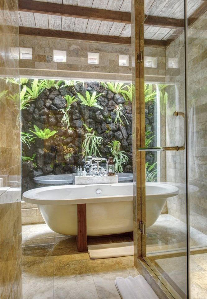 building home glass tiled