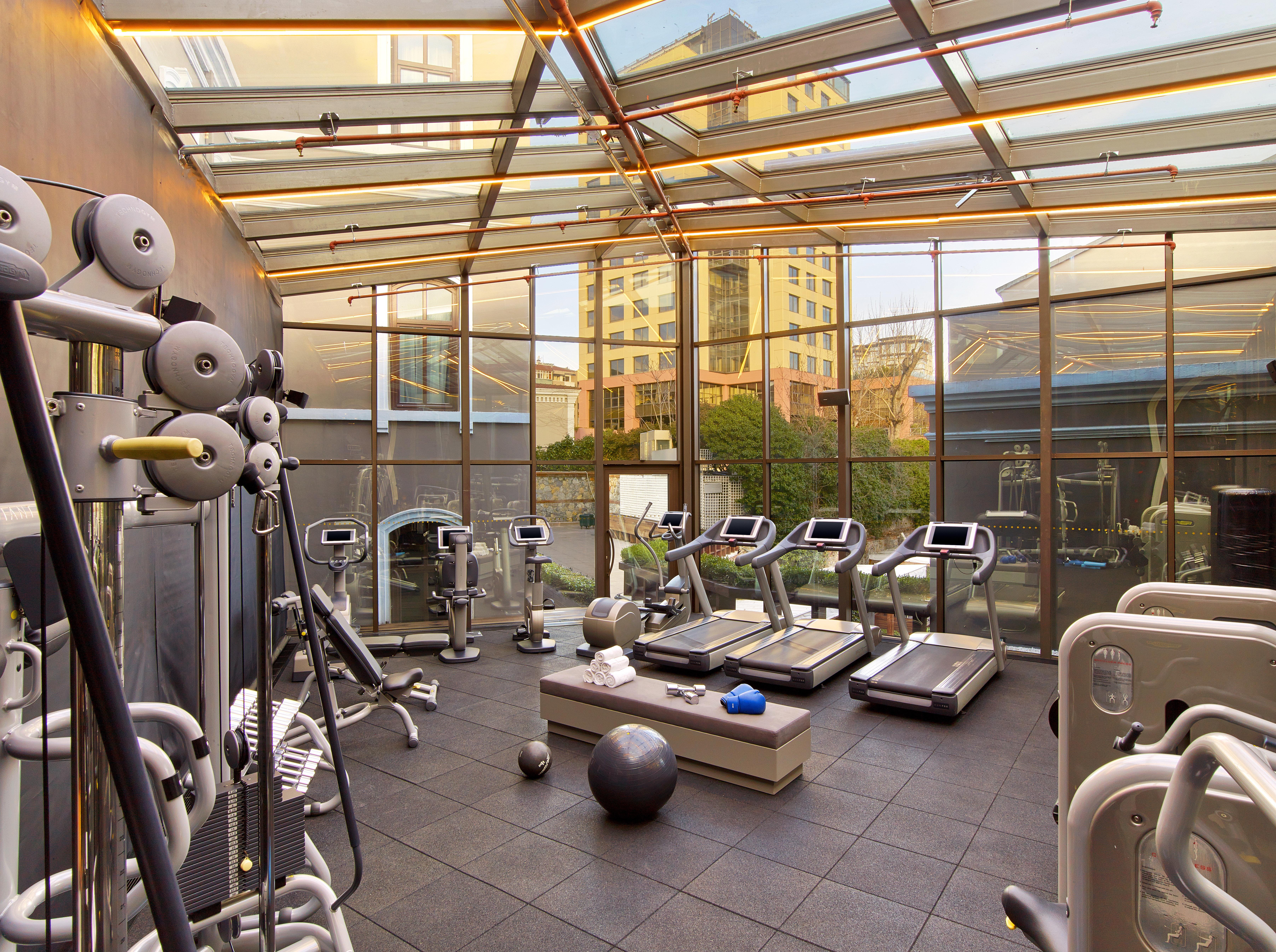 building structure sport venue gym