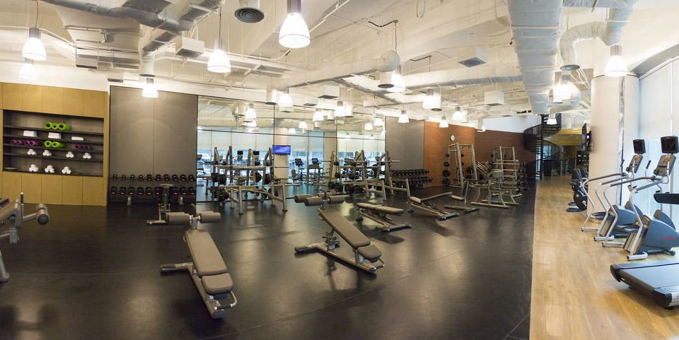 structure gym building sport venue