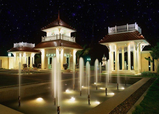 night landmark building lighting palace mansion landscape lighting