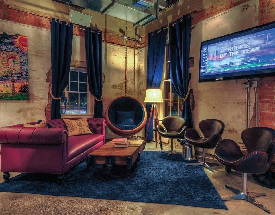 property building recreation room living room