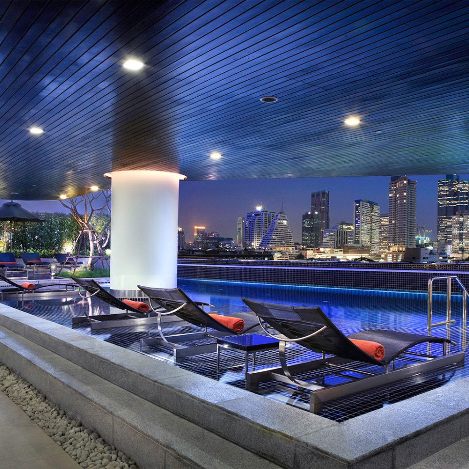 Buildings Business City Entertainment Nightlife Pool Rooftop Scenic views swimming pool Lobby convention center theatre