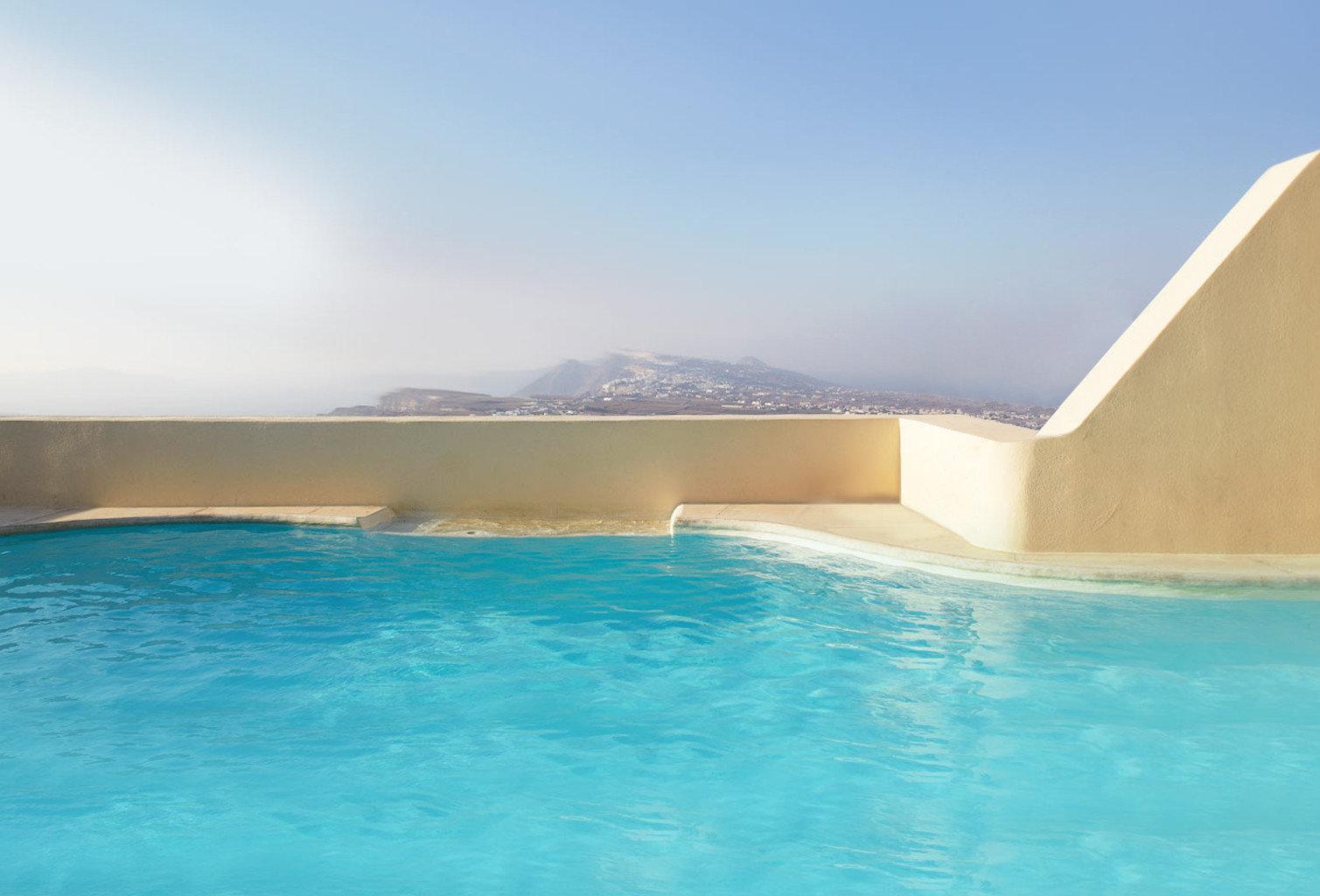 Buildings Luxury Pool Scenic views water sky swimming pool property swimming Sea Ocean Nature blue shore