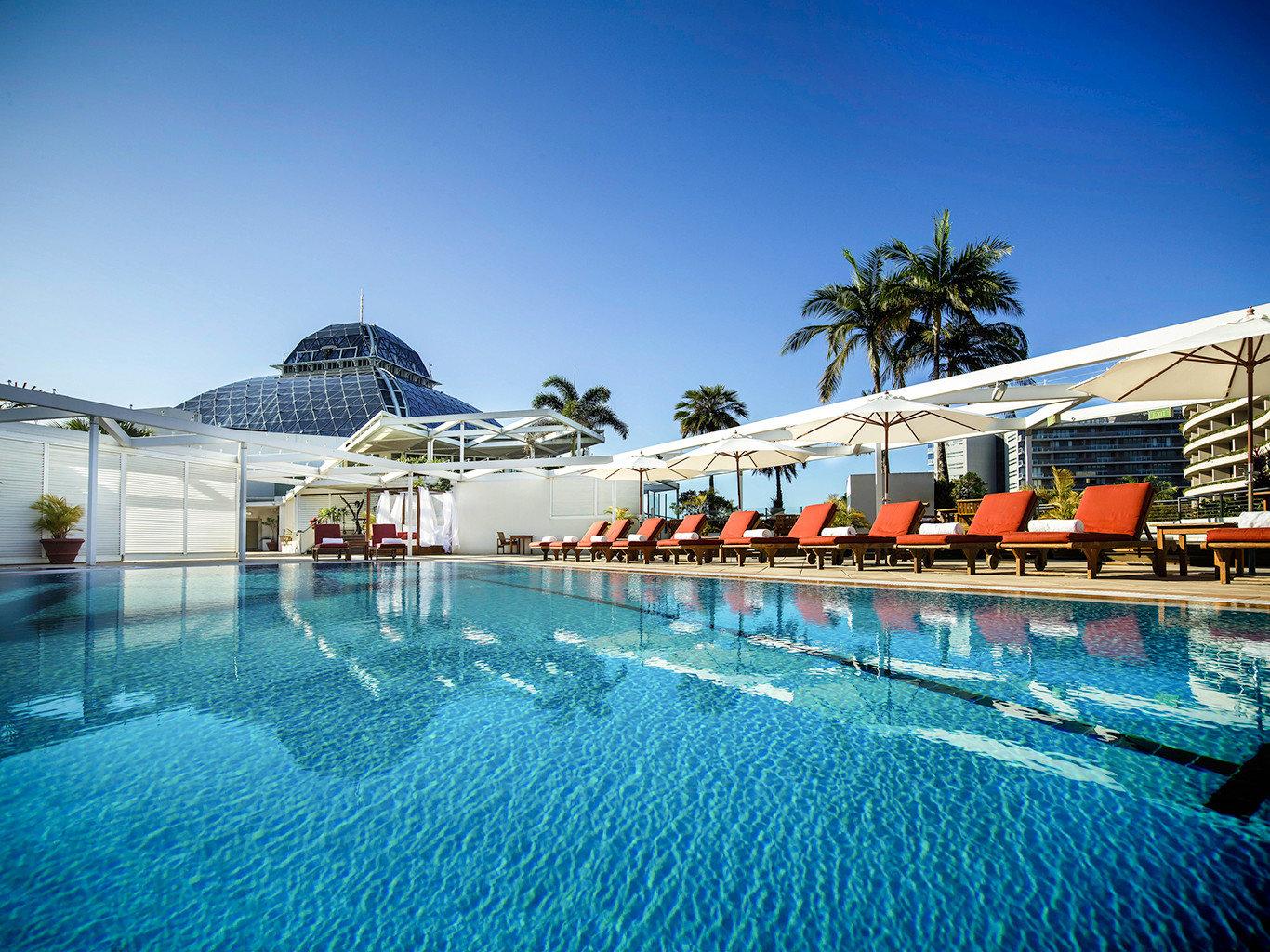 Buildings Play Pool Resort Scenic views sky swimming pool leisure marina resort town Sea dock blue