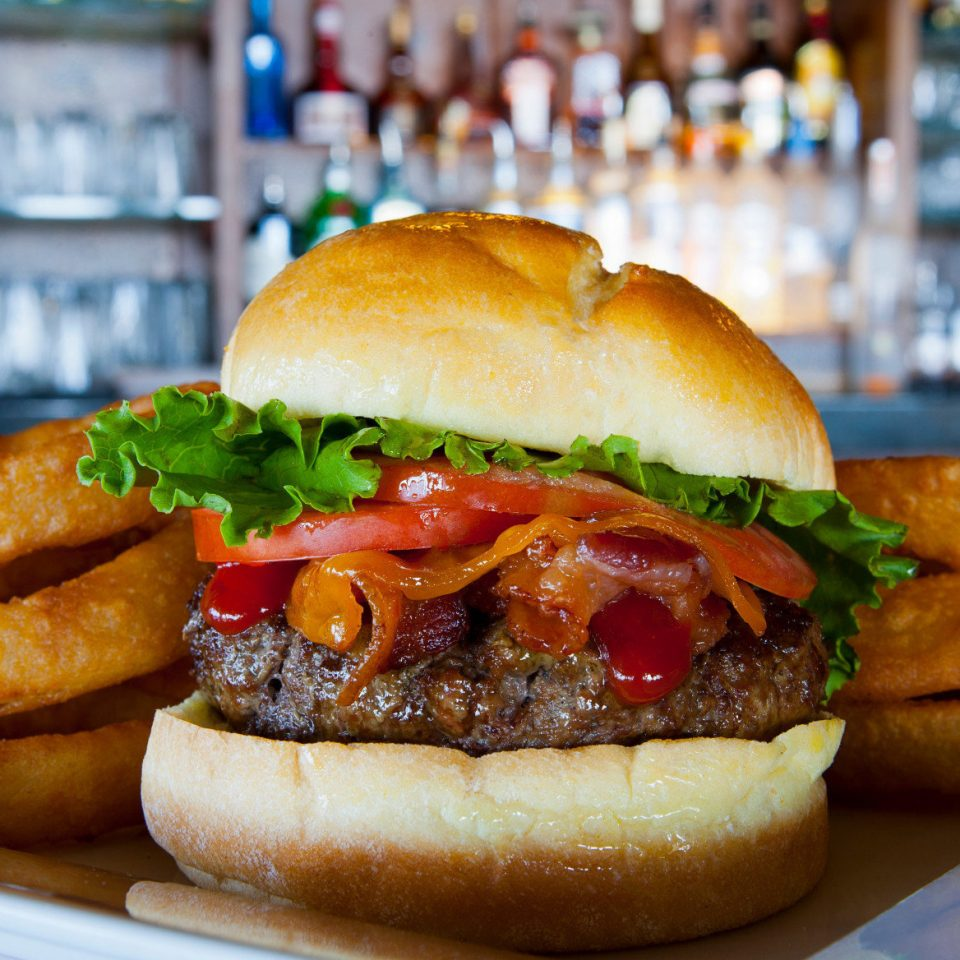 food hamburger sandwich snack food veggie burger cheeseburger bánh mì slider fast food sloppy joe meat bun restaurant tomato close