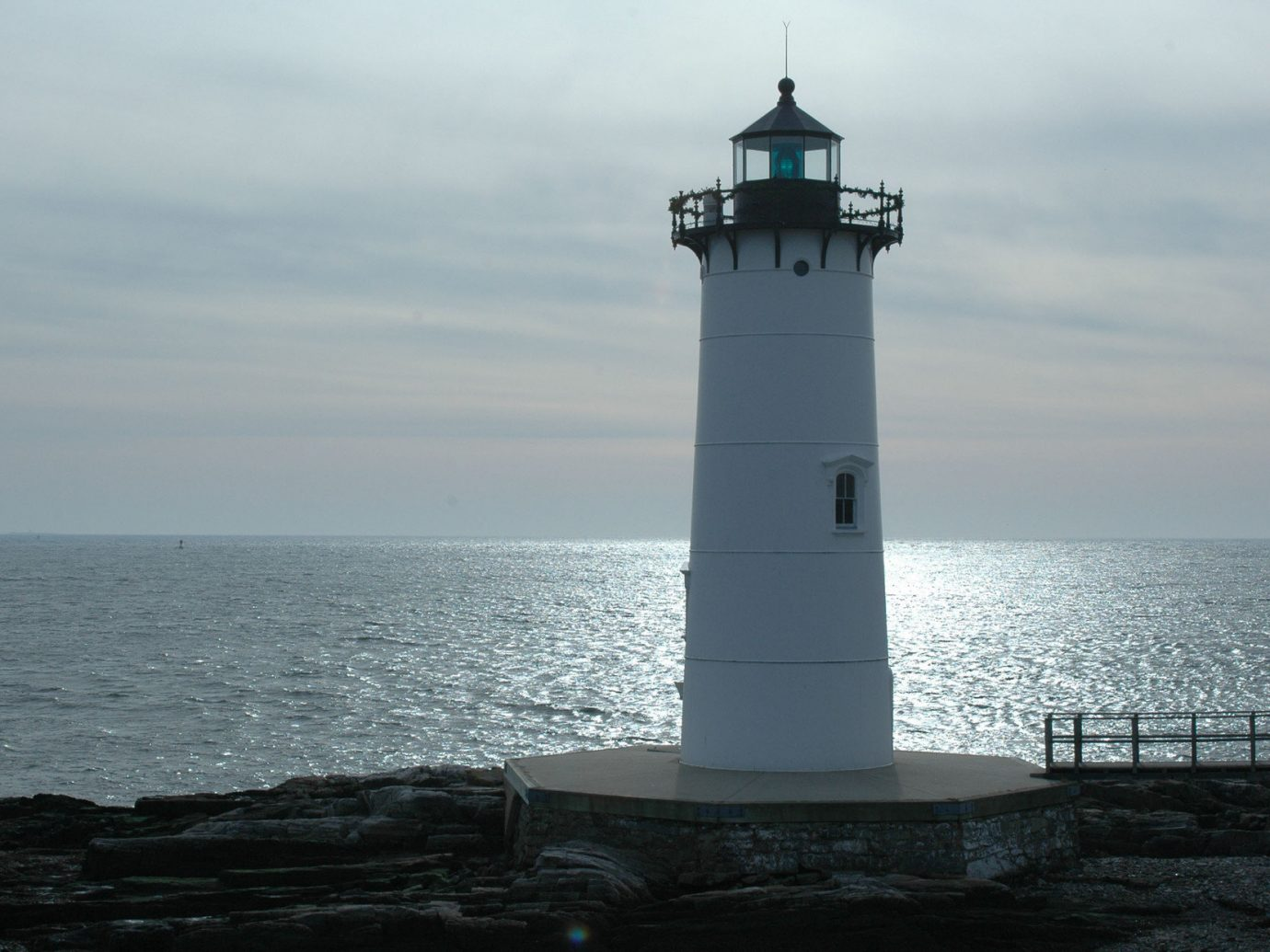 Trip Ideas water sky outdoor lighthouse tower Sea Ocean Coast cape overlooking